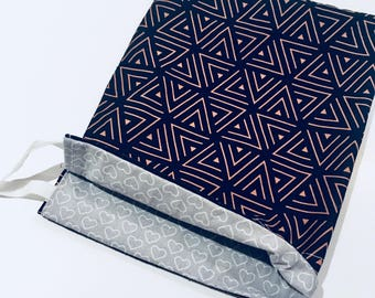 Make up jewellery bag pouch   Travel   Gifts
