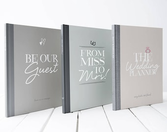 Wedding Planner, Hen Party Book, Guest Book Package