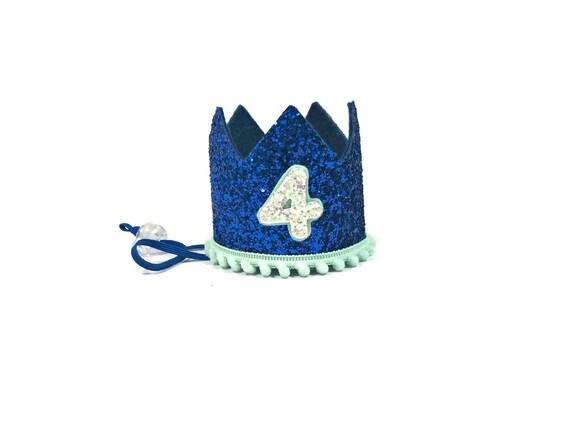 SALE Dog Birthday Crown Hat || Animal Party Hat || Cat Kitty Puppy Pig Birthday Crown Hat ||