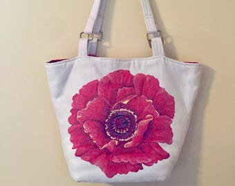 Red Poppy Purse