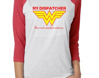 911 Dispatcher- Wonder Woman Police Dispatch Sweatshirt Law Enforcement Thin Gold Line Emergency 911 Operator Hooded Sweatshirt 911 Dispatch