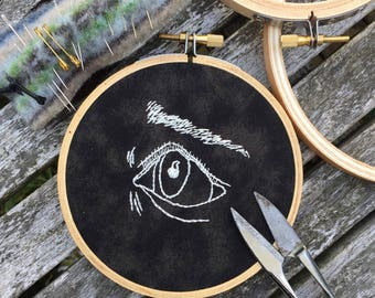 """The Final Girl Part 1 4"""" Embroidery Hoop"""