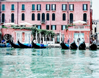 Venice Gondola Photo Venice photography Venice travel print Gondola photo Italy photography Travel photography Venice picture Gondola print