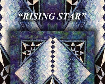 Rising Star Quilt Pattern