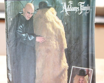 Simplicity 7992 Uncle Fester & Cousin It Costume Pattern -- The Addams Family -- Adult XS to L -- Uncut -- 1992