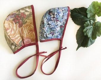 Dusty Rose Bonnet