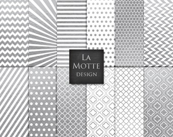 digital silver patterns silver and white pattern backgrounds silver paper digital silver chevron digital patterns 12 jpgs
