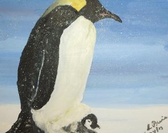 Penguin Magnet - Magnet - penguin - refrigerator magnets - bird