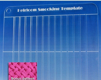 Heirloom Smocking Template with Bonus Pattern