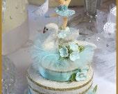 Swan Lake Cake Topper...