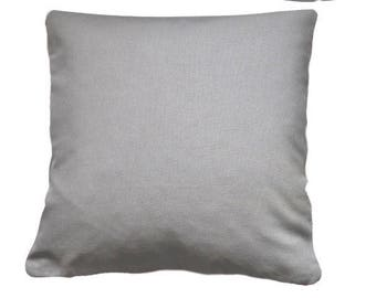 Pillow cover grey 60 x 60 cm of fabric