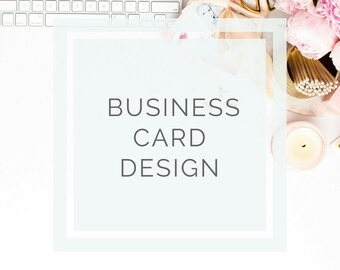 Business Card Design, Business Card, Premade logo, Logo Design, Branding Kit, Watercolor Logo, Photography Logo, Business Branding