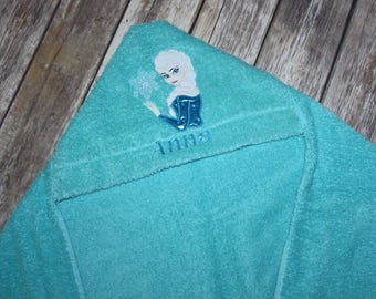 Infant/Kids Hooded Bath Towel - Elsa
