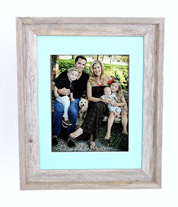 Barnwoodusa 11x14 Inch Signature Picture Frame For 8x10 Inch