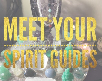 Meet Your Spirit Guides / Spirit Guide Reading / Life Purpose / Messages from Spirit / Psychic Reading / Angel Messages