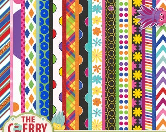 The Trolla Bolla Scrapbooking Paper collection