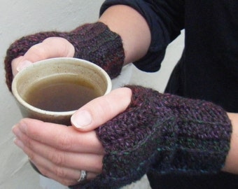 Crochet Pattern For Fingerless & Thumbless Mittens DK PDF