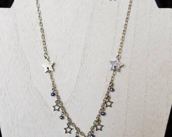 Night Sky Necklace & Earrings