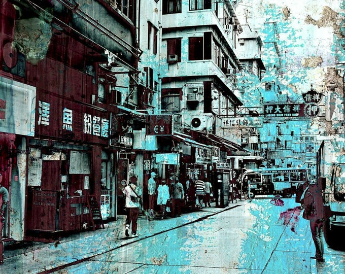 HONG KONG Focus VIII by Sven Pfrommer - Artwork is ready to hang