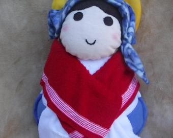 Saint Doll St. Bernadette Catholic Soft Religious Toy