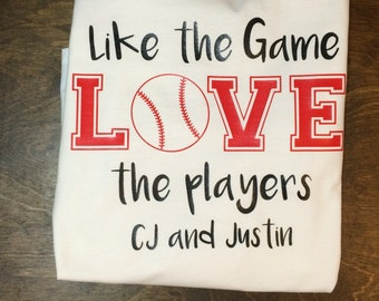 Like the game love the players shirt