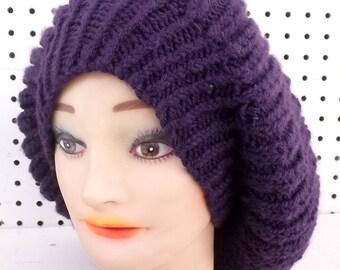 Knit Pattern for Womens Hat, Knit Pattern Hat, Knitting Pattern Hat, Beanie Hat Pattern, Knitted Hat, Mary Knit Pattern