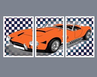 Car Wall Art, Car Decor, Nursery Decor, Boys Bedroom Decor, Boys Bedroom Wall Art, Playroom Wall Decor, Playroom Wall Art Playroom Decor