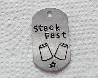 Stack Fast Dog tag, Charm