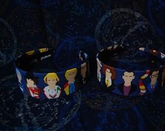 Police box  headband 2inch