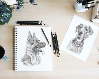 Custom Pet Portrait, Dog Portrait, Pet Portrait, Custom Dog Art, Personalized Pet, Pet Drawing, Pet Memorial, Pet Portrait Custom, Dog Art