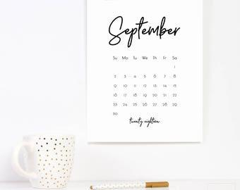 office calendar 2018 calendar download printable calender 2018 minimalist typography modern calendar pages