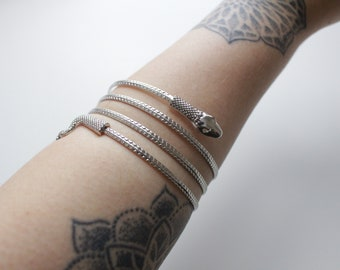 Isabelle Lightwoods Serpent Whip inspired The ShadowHunters Arm Cuff