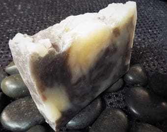 Between The Sheets - Vanilla Sandalwood Scented Soap HP Handcrafted Wisconsin Soap - Dirty Bear Soap