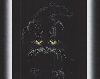 Cross Stitch Kit Black cat