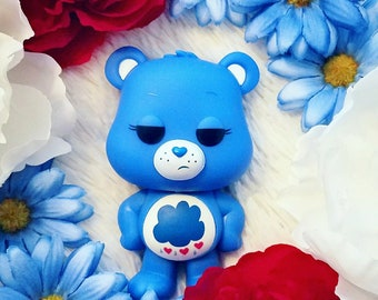 Grumpy Bear Care Bears photography in Canvas or Print