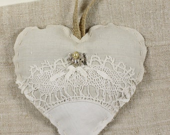German Grainsack Lavender Sachet with Pearl
