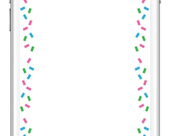 Happy Birthday Confetti Geofilter