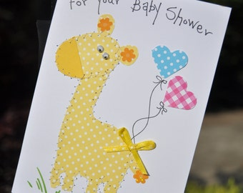 Baby Shower Greeting Card     For Your Baby Shower