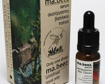 Firming & regeneration of the skin: ma.beez fresh royal jelly serum