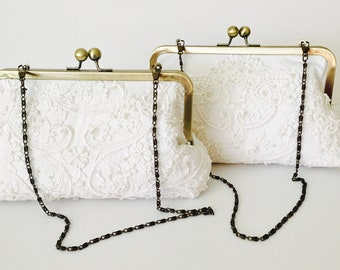 CHAIN HANDLE for clutch purse