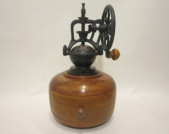 Hand made coffee grinder