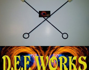 5 sets of handmade  Fire eating torches Group package
