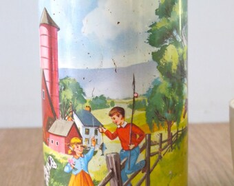 Vintage American Thermos 1962 Pet and Pals Thermos Holtemp