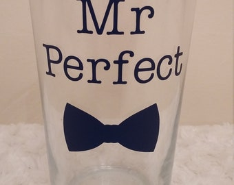 Mr Perfect Pint Glass