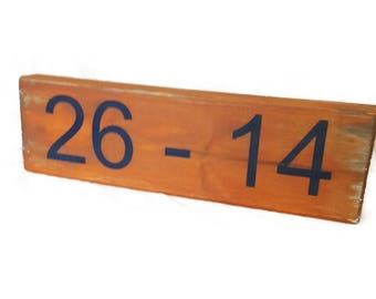 Iron Bowl Score, Auburn Orange and Blue, War Eagle