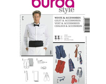 Burda Style 3403 Vest & Accessories