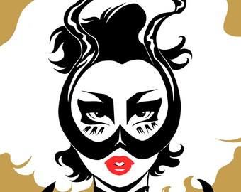 Kim Chi mask