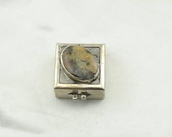 Collectable Sterling Silver Hinged Box With  #SILVERBOX-UV3