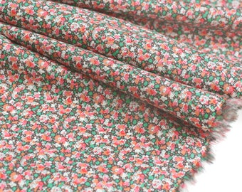 Fabric liberty of london Pepper red x 30cm