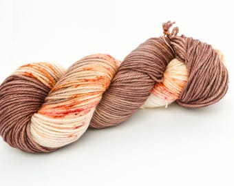Buds and Blooms - Hand Dyed DK Weight Yarn 100% Superwash Merino Wool